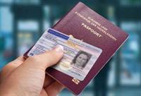 foto van paspoort en identiteitskaart