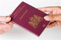 Voorbeeld van een paspoort