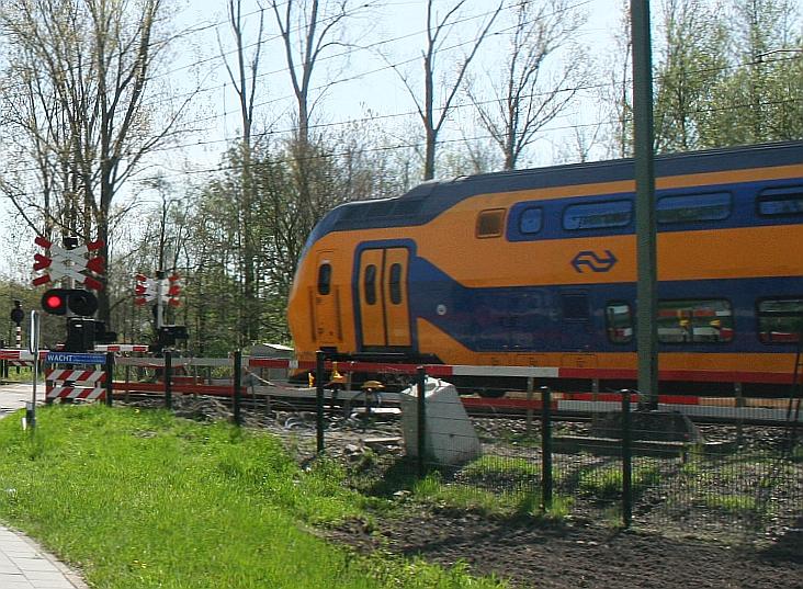 Foto van een trein.