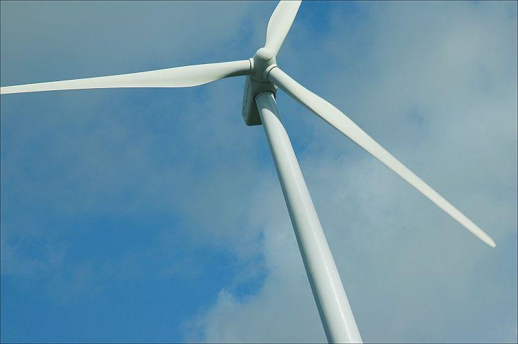 Een windmolen